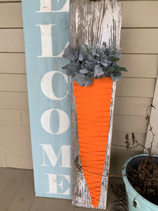 Easter Carrot Porch Stand