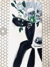 Load image into Gallery viewer, Canvas Floral Cow Kit