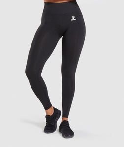 Tights seamless Sort