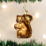 Squirrel with Freckles Ornament
