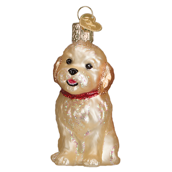 Cockapoo Puppy Ornament