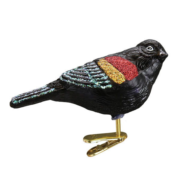 Red-winged Blackbird Ornament