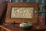 Ginkgo Welcome Sign