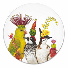 Vicki Sawyer Desert Party Bone China Plate