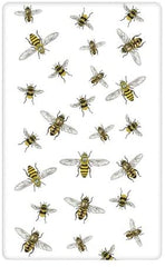 Bees Flour Sack Kitchen Towel