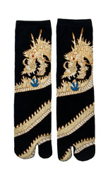 Gold Dragon Tabi Socks