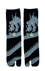 Grey Dragon Tabi Socks