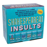 Shakespearean Insults Shot Glasses