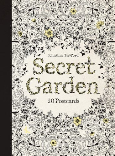 Secret Garden Postcard Book