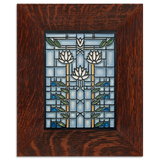Frank Lloyd Wright Water Lilies Framed Tile