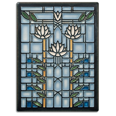Frank Lloyd Wright Water Lilies Tile