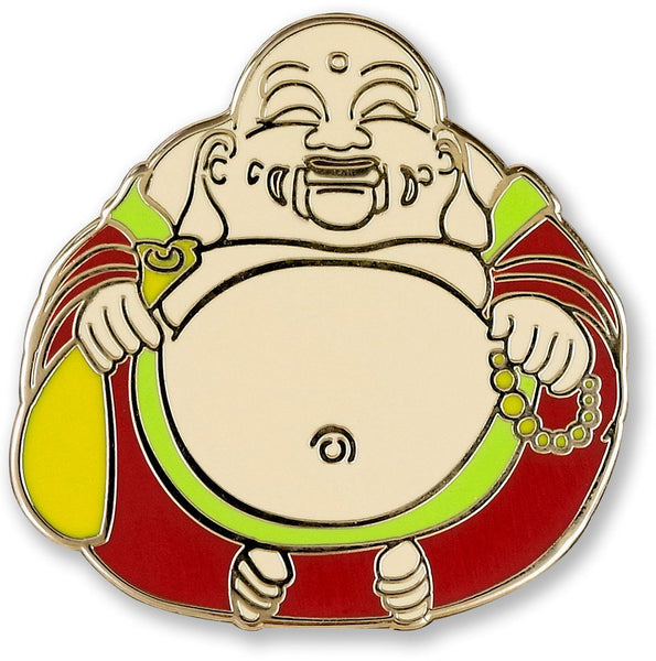 Laughing Buddha Pin