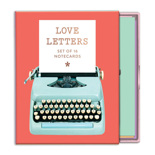 Love Letters Greeting Notecards Set
