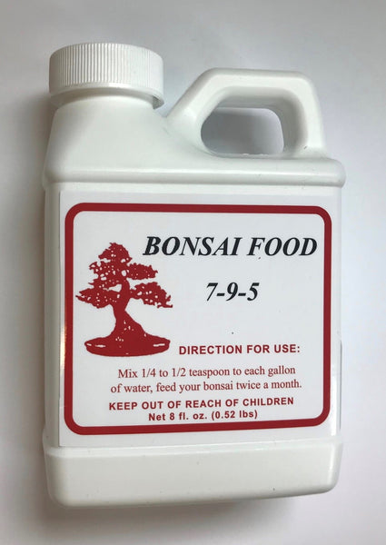 Bonsai Food 7-9-5