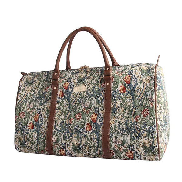 William Morris Golden Lily Big Holdall