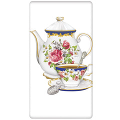 Teapot Flour Sack Kitchen Towel