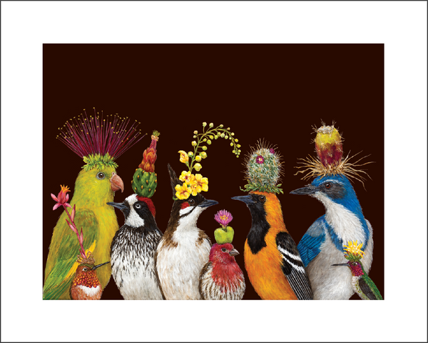 "Limited Edition Huntington Exclusive ""Desert Party"" Print by Vicki Sawyer"