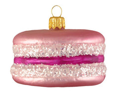 Pink French Macaron Ornament