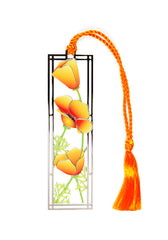 California Poppies Bookmark