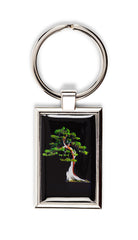 California Juniper Bonsai Keychain