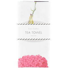 9 Flowers In Bloom Tea Towel