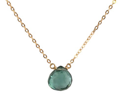 Emerald Hydro Quartz Necklace