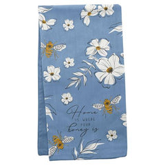 Home is Where Your Honey Is Bee Tea Towel
