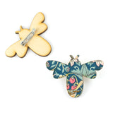 Bee Liberty Strawberry Thief Brooch