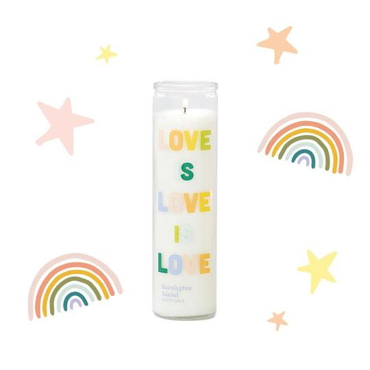 Love is Love is Love Candle