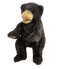 Black Bear Cub Puppet