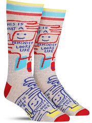 This Is What A Feminist Looks Like Men's Socks