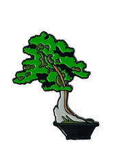 California Juniper Bonsai Enamel Pin
