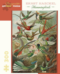 Ernst Haeckel: Hummingbirds 300-Piece Puzzle
