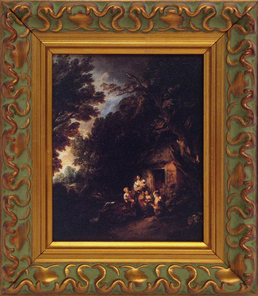 Thomas Gainsborough: The Cottage Door, Framed Print