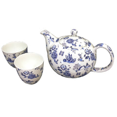Garden Toile Tea Set