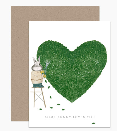 Some Bunny Loves You Notecard
