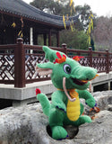 Happy Dragon Plush Toy