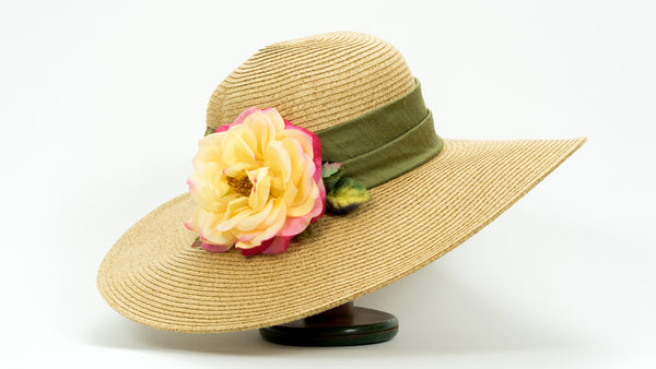 'Huntington's 100th' Rose Hat