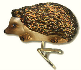 Hedgehog Clip-on Ornament