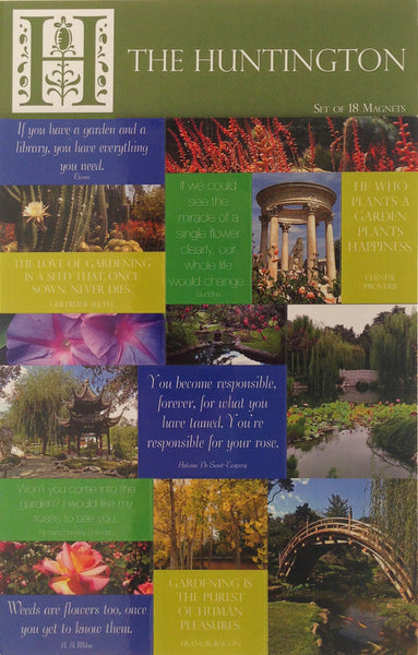 Huntington Botanical Magnet Set