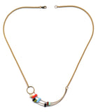 Ronni Kappos Shooting Arc Necklace