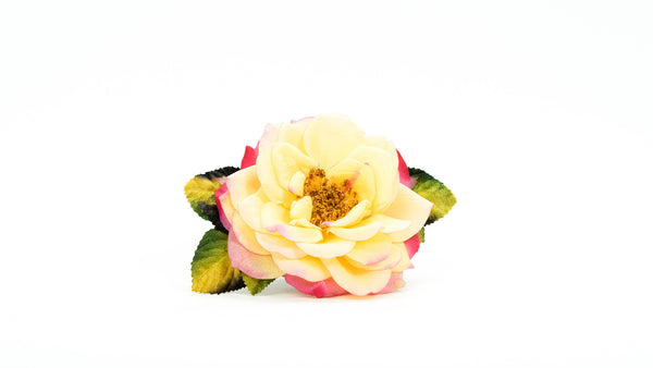 Large 'Huntington's 100th' Rose Pin