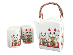 Lucky Cat Tea Set
