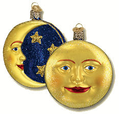 Man in the Moon Ornament