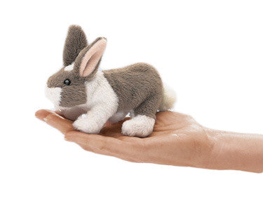 Long Eared Bunny Finger Puppet