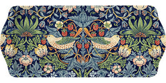 William Morris Strawberry Thief  Blue Sandwich Tray