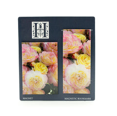 'Huntington's 100th' Rose Magnet and Bookmark