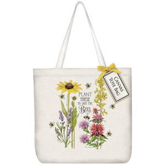 Save the Bees Canvas Tote Bag