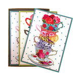 Stacked Tea Cup Notecards