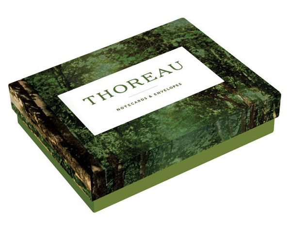 Thoreau Notecards & Envelopes